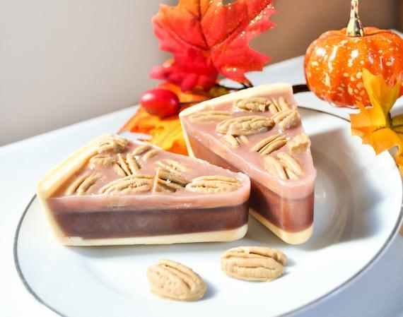Pecan Pie Soap  - Autumn Harvest - Maple Pecan Streusel scented