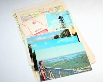 Arkansas - United States Vintage Travel Collage Kit