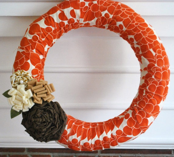 Clementine Autumn Wreath