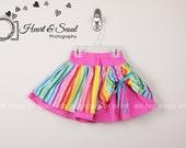 Striped Twirl Skirt