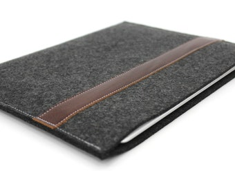 ipad mini case.iPad Mini Leather Case. Wool Felt Sleeve.iPad Mini Sleeve.iPad Mini Cover.