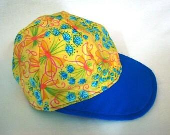 Baseball Hat - Flower Bouquet - Girls