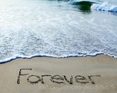 FOREVER Sand Writing