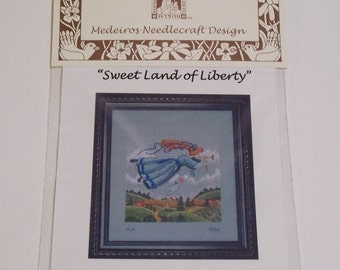 Sweet Land of Liberty Cross Stitch Pattern - Brand New, Unopened