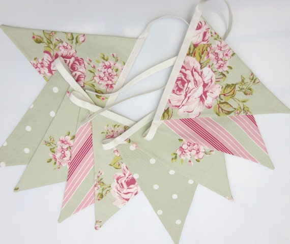 shabby chic bunting - photo #4