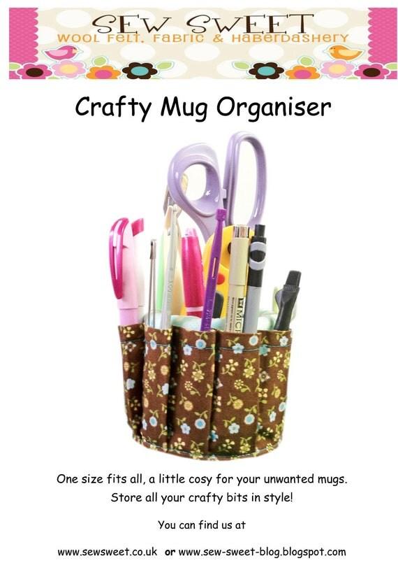 Sewing Craft Organiser Pattern Free