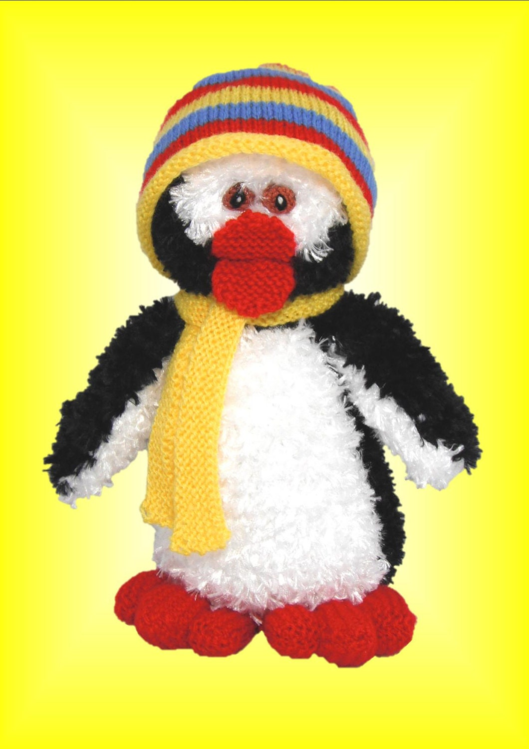 Pepe Penguin A New Original Toy Knitting pattern