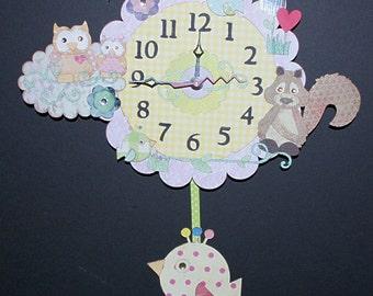 Baby Pendulum Wall Clock