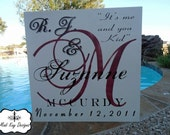 Wedding Date Sign Mr and Mrs Wedding Signs, Personalized Family Names Sign, Vintage Wedding, Personalized Wedding Sign,Established Sign