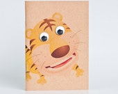 Kraft Notebook Pocket Booklet A6 - Tiger