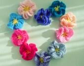 Flower Crochet Pattern Amelie - Easy beginner PDF - PHOTO TUTORIAL crochet how to make flowers - Instant Download