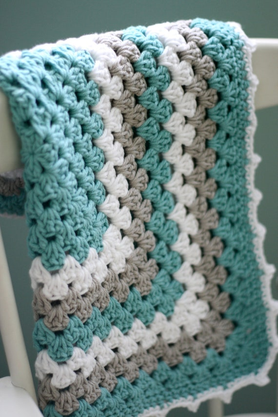 Daisy Cottage Designs Granny Square Blanket By