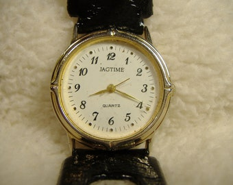 Vintage 1980s Jagtime Quartz Watch