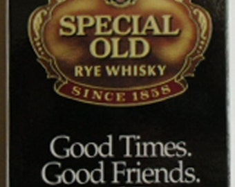 Vintage Advertising / Deck of Cards Hiram Walker Special Old Rye Whisky