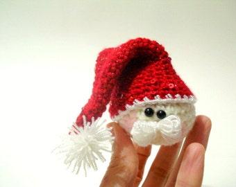 Pattern - Amigurumi Santa Claus Pattern, Crocheted Santa Pattern, Christmas Gifts, Christmas ornaments,  Instant Download, Crochet Tutorial