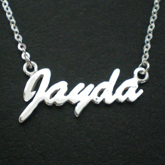 Personalized Name, Words, Font and Letters Necklace Choker - Max 10 letters