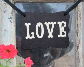 LOVE Banner for Weddings, Receptions, Engagement and Wedding Photos