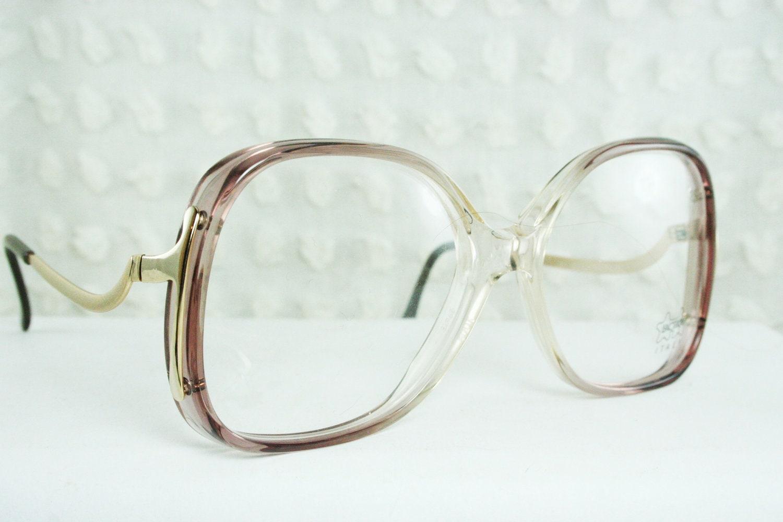 70s glasses 1970 s oversize eyeglasses luxottica by diaeyewear