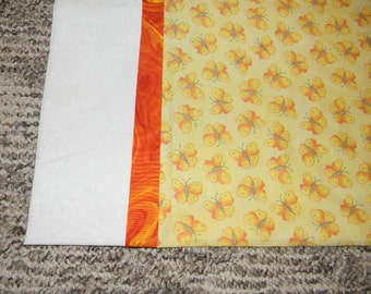 Yellow and Orange Butterfly Standard Pillowcase