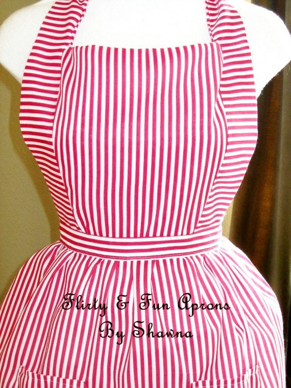 Sex in the City Carrie Bradshaw Candy Striper Apron Replica Hat Included