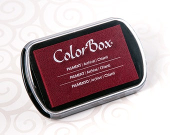 Colorbox Pigment Ink Pad (Full Size) - Chianti