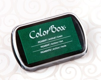 Colorbox Pigment Ink Pad (Full Size) - Green