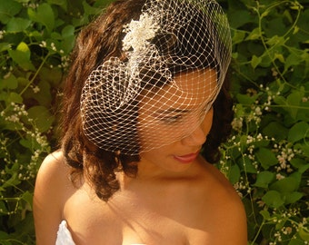 Small Birdcage Veil, Wedding Veil - Copenhagen