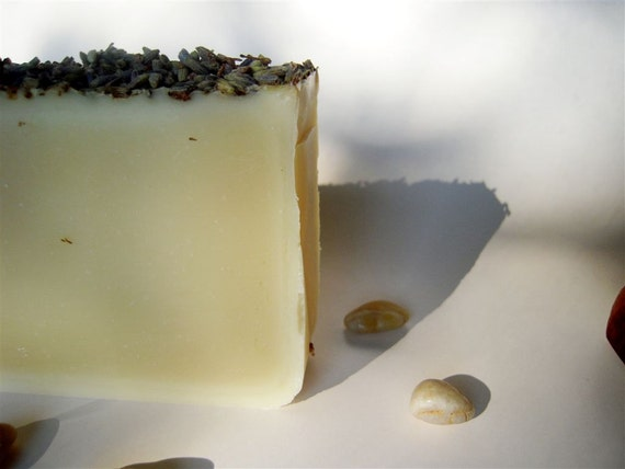 Licorice & Lavender Cold Processed Soap,  made with organic oils and beeswax