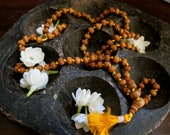 Hand Knotted Sandalwood Meditation Mala
