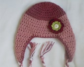 Crochet Infant Girl Hat