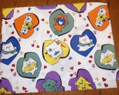 girl  travel pillow case - you pick cats, animals, peace signs - great holiday gift for kids