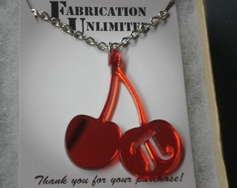 Cherry Pi Necklace