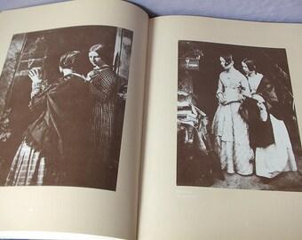 Vintage Hill and Adamson Photographs book, 1973, antique victorian photographs, children landscape art history book, wedding gift for bride