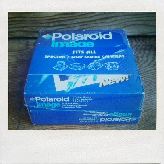 Polaroid Image Instant Film Lot of 2 Packs (20 Photos)