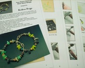 """Tutorial for the """"Faux Beach Glass and River Pebble Bangle"""""""