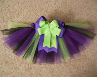 Custom made halloween dog tutu up to a 12 inch waist