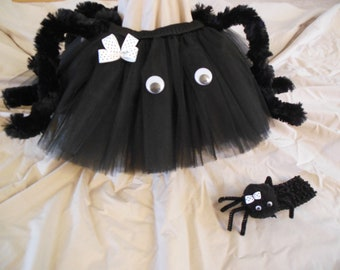 Little Spider tutu set, custom made up to a 4t