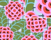 """SALE 1 Yard """"Tea Rose"""" in Silver by Amy Butler, Cameo Collection, Quilting Cotton"""