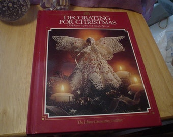 1992 Christmas Book  'Decorating for Christmas', Christmas, Decorating, Crafts, Gifts, Victorian, Shabby Chic, Bohemian,  How To, Romantic