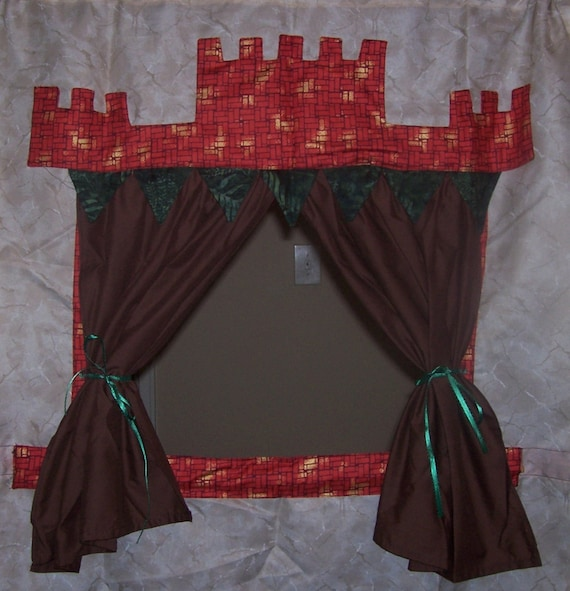 Rennaisance Castle Puppet Theater for Imaginative Play