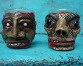 Zombie Head Shot Glasses