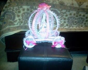 Cinderella carriage centerpeice  sweet 15/16   babyshower birthday