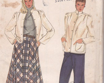 Vogue 7861 size 8 jacket skirt and pants uncut sewing pattern