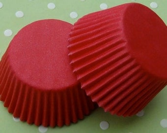 Red Cupcake Liners