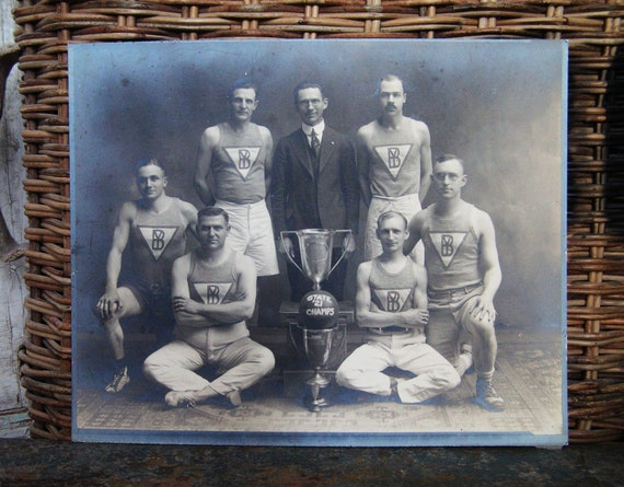 RESERVE until 10/5 for Walter 1921 Athletic Team STATE CHAMPS with trophies and Basketball