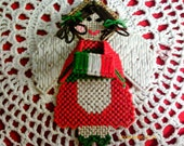 Italian Flag Angel St. Judes Charity