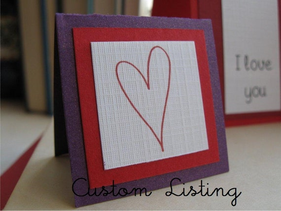 Custom Listing for Amanda- 100 Customized Flat Thank You Cards
