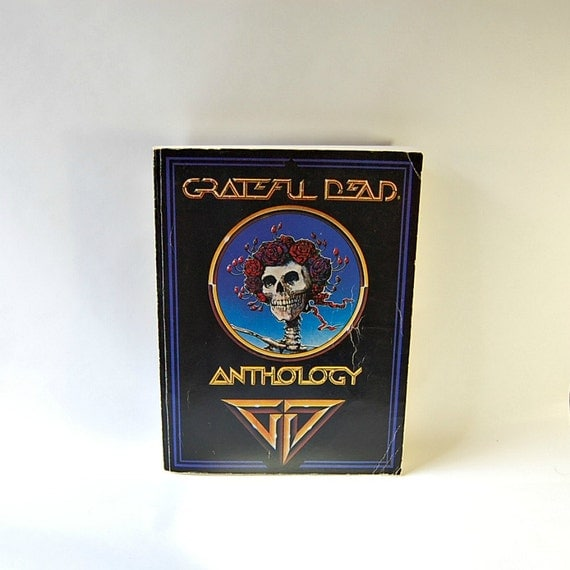 1979 Grateful Dead Anthology Piano Book / Guitar Book