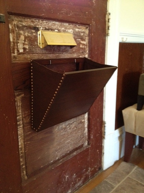 basket for mail slot