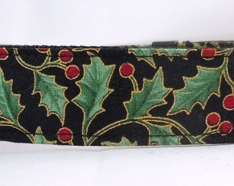 Christmas Dog Collar - Dog Collar, Martingale Collar, Cat Collar - All Sizes - Holiday Serenade